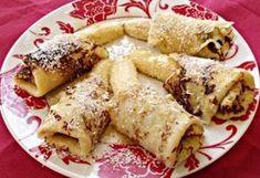 Karibi kókuszpalacsinta Hungarian Recipes, Hungarian Food, Caribbean Recipes, Pancakes And Waffles, Apple Cake, Sweet Desserts, Cakes And More, Low Carb Recipes, Food And Drink