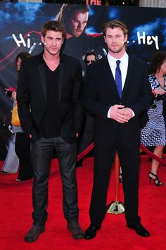 Umm yes please Ill take a shot of the Hemsworth brothers!