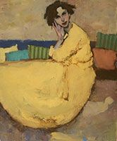 Lounging / oil / 24 x 20 in. / $11,000