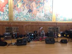 BRANGWYN HALL, SWANSEA (Alternative Setup): For smaller parties that still want to retain the space and elegance offered by this venue consider a sideways setup.