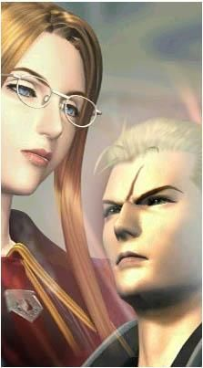 Quistis and Seifer from Final Fantasy VIII