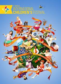 Children Festival Poster. by Ismail Abay, www.maverai.com