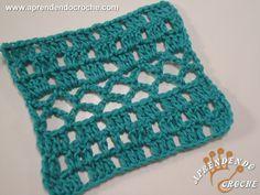 Ponto de Crochê Fantasia - 2 - Receita de Croche com o Passo a Passo no Link http://www.aprendendocroche.com/receitas-de-croche/video-aula.asp?resid=1347&tree=2