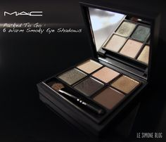 Packed To Go : 6 Warm Smoky Eye Shadows MAC