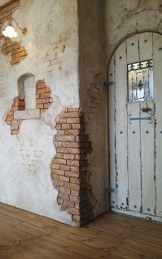 Find out about new Living Room decor tips and hints. Wall Art Designs, Wall Design, House Design, Faux Brick Walls, Old Brick Wall, Dutch Colonial Homes, Living Room Decor Tips, Brick Architecture, Old Bricks