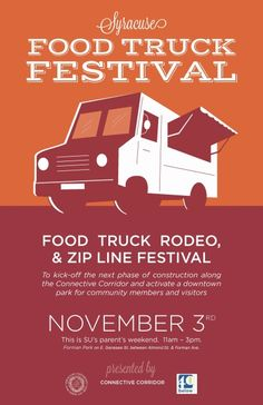 Food Trucks posters | construction is about to start for the connective corridor passing ...