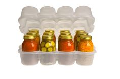oooh...that perfect gift for your canning friend! Or to send some homemade goods safely to your loved ones far away! JarBOX Quart Sized Set - Canning Jar Caddy  $17.95