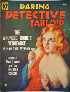 Daring Detective - May, 1935