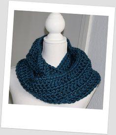 Snelle sjaal, lekker warm!