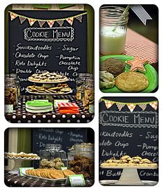 cookies and milk baby shower: Cute idea for a second baby shower, something small/simple but cute:)