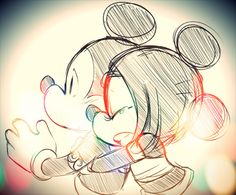 """""""hold me Mickey""""  #happiest place"""