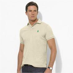 Polo Ralph Lauren Men's Nude Green Mesh Shirts http://www.ralph-