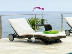 rattan sun loungers ideas modern lounge furniture balcony furniture ideas