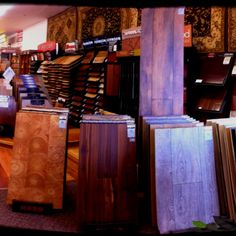 Exotic wood and laminate floors from Germany