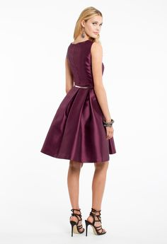 Solid Mikado Dress w