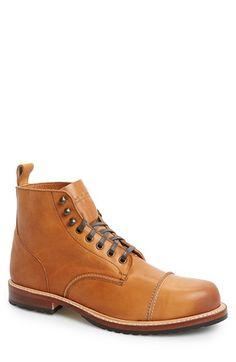 Men\'s Noah Waxman \'Hudson\' Cap Toe Boot