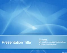 Extreme PowerPoint Template is a free abstract background for PowerPoint presentations that you can download to decorate your presentations in PowerPoint