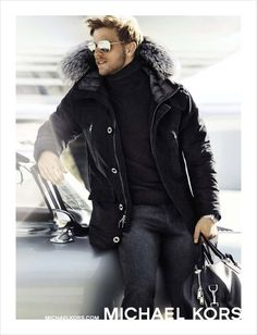 Benjamin Eidem for Michael Kors Fall Winter 2014.15
