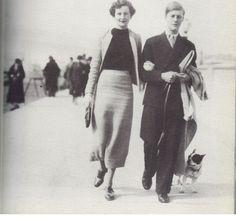 Nancy & Peter Rodd in Brighton
