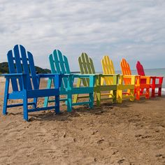 Before and After: Adirondack Chairs