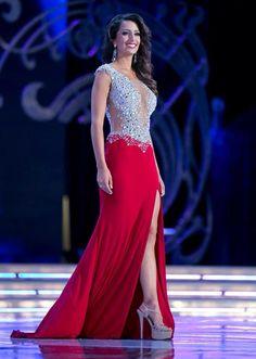 Miss-California-Marina-Inserra-Evening-Gown #MAOTeen #MissCATeen