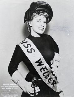 miss. welder. Lol that's awesome!