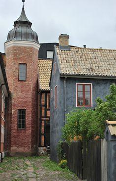 Lund Sweden.    I Tages trädgård