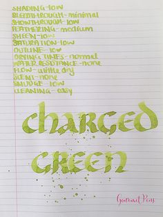 Ink Shot Review Lamy Charged Green 2016 Limited Edition @Fontoplum0 (5)