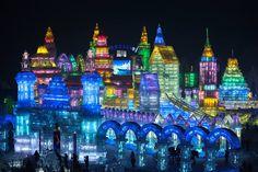 Harbin, China, Ice Festival