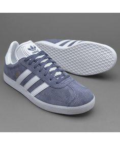 best service 4dddc f0dd2 Adidas Gazelle Super Purple White Gold Trainers Goldene Trainingshosen,  Graue Schuhe, Adidas Schuhe,