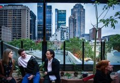 Melbourne rooftops have fast become the hottest locations for bars, and Loop's new Roof is the latest elevated watering hole to launch with views of Melbourne's skyline. Melbourne Bars, Best Rooftop Bars, Night Life, Skyline, Drinks, City, Travel, Fresh, Drinking