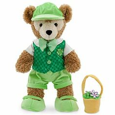 Duffy the Disney Bear Reversible Costume - St. Patrick's Day and Easter for the 17'' Duffy | Disney Store