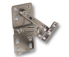 Rev-A-Shelf sink front tilt out hinges (x6)  sc 1 st  Pinterest & Custom tilt-out laundry chut door -- hinge kit Flap Stay Hamper Kit ...