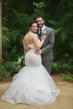 #Beautiful wedding dress At #LasCaletas #Love