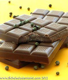 Pfeffer-Orangen-Schokolade