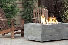 Buckshot Firepit - Concrete Wave Design   Concrete Countertops, Fireplaces, Patios & Furniture