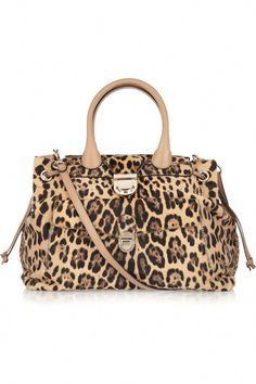 e4a8ae1772f Leopard-print calf hair shoulder bag by Valentino #WomensShoulderbags  Michael Kors Portemonnee, Designer