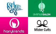 40 Creative Salon Logo Design Ideas for your inspiration. Follow us www.pinterest.com/webneel