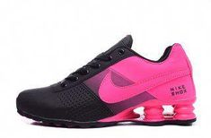 huge selection of 48fe1 d43af Nike Shox Deliver Hyper Pink Black Womens Running Shoes #Sneakers Nike Shox  For Women,