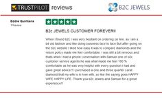 B2C Jewels Review on Trust Pilot by Eddie Quintana