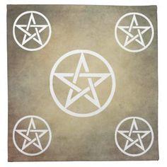 Pentacle Altar Cloth - Earth Element