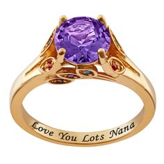 Buy Personalized Mother's Birthstone and Family Ring as a gift for a friend, family member, special someone, or yourself. Choose your style and engraving is ALWAYS FREE! Family Ring, Print Box, Personalized Rings, Engraved Necklace, Birthstone Jewelry, Birthstones, Jewelry Stores, Heart Ring, Jewels