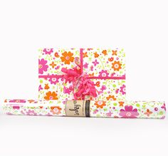 Inky Co.'s Spring Floral roll wrap