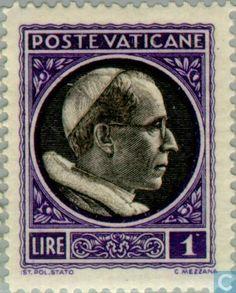 Vatican City - Pope Pius XII 1940