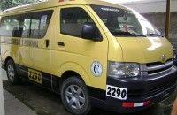 Ofrezco Servicios de Transporte De Pasajeros, Furgoneta Toyota hiace - Akyanuncios.com - Publicidad con anuncios gratis en Ecuador