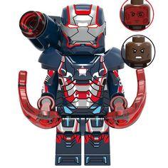 Lego Iron Man, Iron Man Avengers, Lego Marvel's Avengers, Lego Man, Lego Deadpool, Lego Custom Minifigures, Lego Minifigs, Robot Lego, Lego Lego