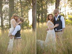 Bush Wedding Inspiration - Polka Dot Bride