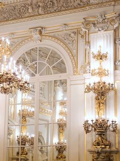Traveling to Prague? Do not miss out on SpanishHall-one of the most impressive state rooms of Prague Castle. Beautiful Buildings, Beautiful Places, Le Meurice, State Room, Prague Travel, Prague Czech Republic, Prague Castle, French Chateau, Beautiful Interiors