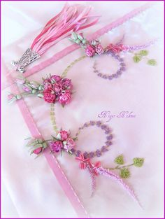 Ribbon embroidery Nigar Hikmet