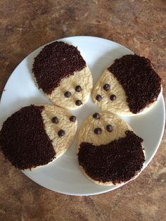 Homemade hedgehog sugar cookies!